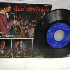 Discos de vinilo: SINGLE-DUO DINAMICO-ESCALA EN TENERIFE EN FUNDA ORIGINAL AÑO 1964. Lote 183597978