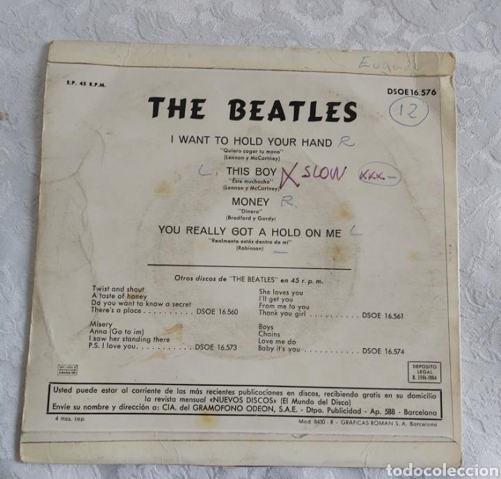 Discos de vinilo: THE BEATLES I WAT/WANT TO HOLD YOUR HAND ERROR DE IMPRESIÓN - Foto 3 - 183609646