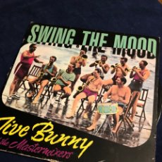 Discos de vinilo: SWING THE MOOD JIVE BUNNY AND THE MASTERMIXERS. Lote 183613640