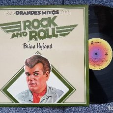 Discos de vinilo: BRIAN HYLAND - MITOS DEL ROCK AND ROLL. EDITADO POR MOVIEPLAY. AÑO 1977. Lote 183616203