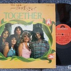 Discos de vinilo: THE NEW SEEKERS - TOGETHER. EDITADO POR POLYDOR. AÑO 1974. Lote 183616963
