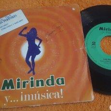 Discos de vinilo: LOS PEKENIKES HECHIZO SINGLE MIRINDA. Lote 183617383
