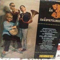 Discos de vinilo: LOS 3 SUDAMERICANOS, LP BELTER 1967. Lote 183617638