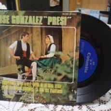 Discos de vinilo: JOSE GONZALEZ PRESI CAMPANINES DE MI ALDEA/NEÑA DE LA SAYA VERDE +2 EP 1969 COLUMBIA ASTURIAS. Lote 183618322
