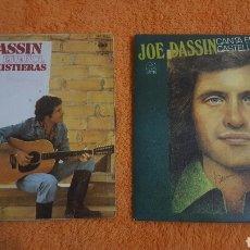 Discos de vinilo: JOE DASSIN CANTA EN ESPAÑOL LOTE DE 2 SINGLES. Lote 183621807
