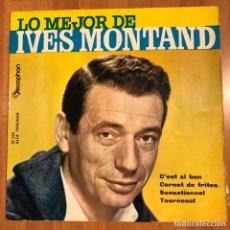 Discos de vinilo: EP DISCOPHON LO MEJOR DE IVES MONTAND.C,EST SI BON. Lote 183627073