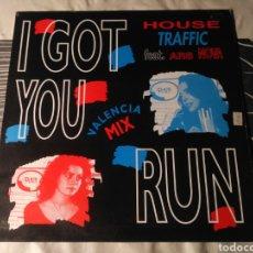 Discos de vinilo: HOUSE TRAFFIC FEAT. ARS NOVA - I GOT YOU RUN. Lote 183634542