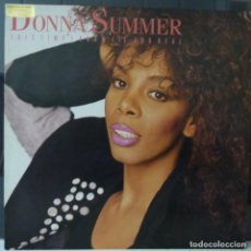 Discos de vinilo: DONNA SUMMER // THIS TIME I KNOW IT'S FOR REAL //1989 // MADE FRANCE //(VG VG). MAXI. Lote 183643251