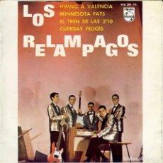 Discos de vinilo: LOS RELAMPAGOS HIMNO A VALENCIA EP 1964. Lote 183645288