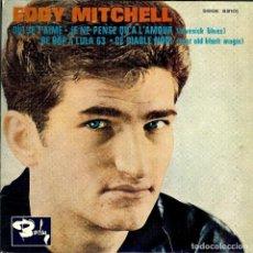 Discos de vinilo: EDDY MITCHELL QUI JE T'AIME EP EDITADO EN ESPAÑA 1963. Lote 183645458