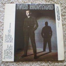 Discos de vinilo: LP. IVES MONTAND. 1964.. Lote 183645508