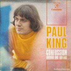 Discos de vinilo: PAUL KING CONFUSSION SINGLE 1969. Lote 183645670