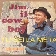 Discos de vinilo: GEN ROSSO. JIM IL COW BOY/ TU SEI LA META. CARPETA DOBLE.. Lote 183647993