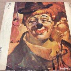 Discos de vinilo: PINO PUGLIESE. EL ULTIMO PAYASO / TONETA. DISCOPHON 1971.. Lote 183649103