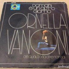 Discos de vinilo: ORNELLA VANONI. DOMANI E UN ALTRO GIORNO / C'E QUALCOSA CHE NON SAI. CARNABY 1971. Lote 183649343