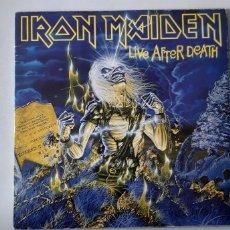 Discos de vinilo: IRON MAIDEN. LIVE AFTHER DEAD. 24 0426 3. ESPAÑA. Lote 183657517