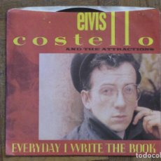 Discos de vinilo: ELVIS COSTELLO. EVERY DAY I WRITE THE BOOK... CANADA, 1983. FUNDA VG++. DISCO VG++. Lote 183660891