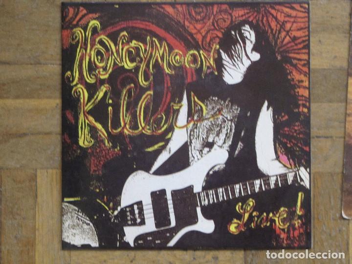 HONEYMOON KILLERS. LIVE... ESPAÑA, 1991. FUNDA VG++. DISCO VG++. (Música - Discos de Vinilo - EPs - Pop - Rock Extranjero de los 90 a la actualidad)