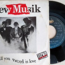 Discos de vinilo: SINGLE VINILO NEW MUSIK: ALL YOU NEED IS LOVE-TWELFTH HOUSE,ESPAÑA 1982, EPC A 1976 (VG+_VG+). Lote 183665057