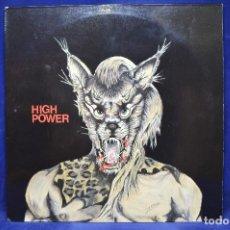 Discos de vinilo: HIGH POWER - HIGH POWER - LP. Lote 183665097