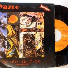 Discos de vinilo: SINGLE, YAZOO - THE OTHER SIDE OF LOVE / ODE TO BOY, ESPAÑA 1982, RCA VICTOR‎– SPBO-7391 (VG+_VG+). Lote 183665741