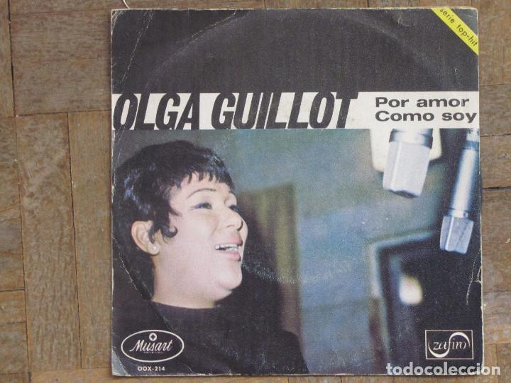 OLGA GUILLOT. POR AMOR; COMO SOY. ESPAÑA, 1969. FUDA VG. DISCO VG+. (Música - Discos - Singles Vinilo - Grupos y Solistas de latinoamérica)