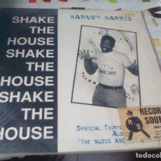 Discos de vinilo: LP. HARVEY HARRIS -- SHAKE THE HOUSE. Lote 183668673