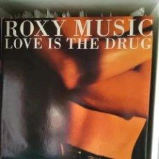Discos de vinilo: ROXY MUSIC - LOVE IS THE DRUG (MX) 1990. Lote 183672795