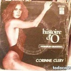 Discos de vinilo: CORINNE CLERY - HISTOIRE D´O (SG) 1978. Lote 183673470