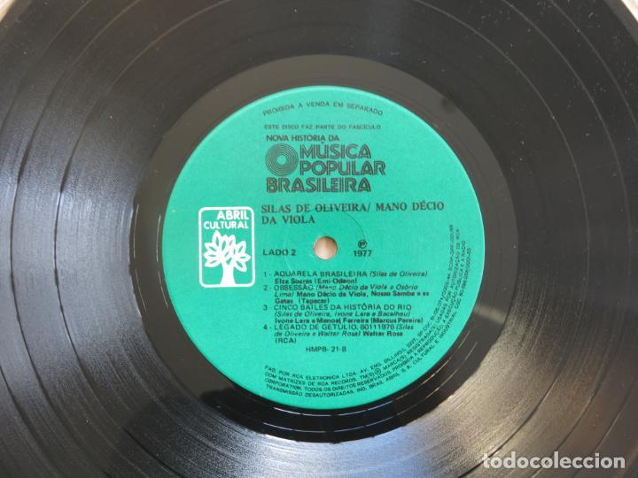 Discos de vinilo: 10 PULGADAS MUSICA POPULAR BRASILEIRA SILAS DE OLIVEIRA MANO DECIO DA VIOLA CHICO BUARQUE NARA LEAO - Foto 10 - 183674512