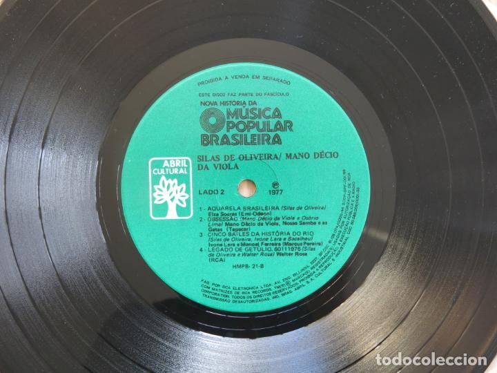 Discos de vinilo: 10 PULGADAS MUSICA POPULAR BRASILEIRA SILAS DE OLIVEIRA MANO DECIO DA VIOLA CHICO BUARQUE NARA LEAO - Foto 11 - 183674512