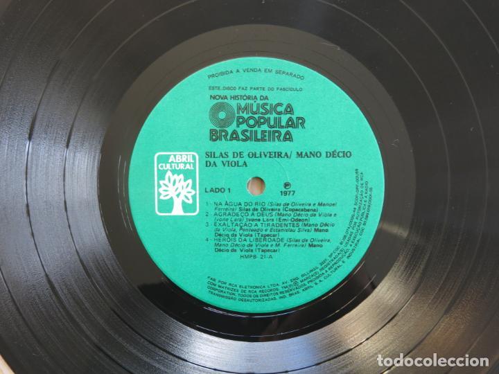 Discos de vinilo: 10 PULGADAS MUSICA POPULAR BRASILEIRA SILAS DE OLIVEIRA MANO DECIO DA VIOLA CHICO BUARQUE NARA LEAO - Foto 12 - 183674512