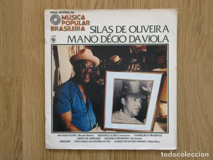10 PULGADAS MUSICA POPULAR BRASILEIRA SILAS DE OLIVEIRA MANO DECIO DA VIOLA CHICO BUARQUE NARA LEAO (Música - Discos - LP Vinilo - Grupos y Solistas de latinoamérica)