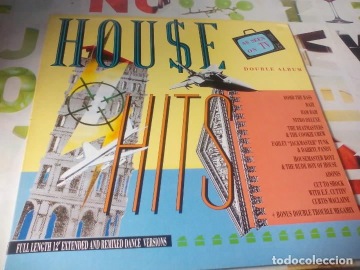 LP. DOBLE. HOUSE HITS (Música - Discos - LP Vinilo - Techno, Trance y House)