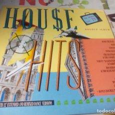 Discos de vinilo: LP. DOBLE. HOUSE HITS. Lote 183675912