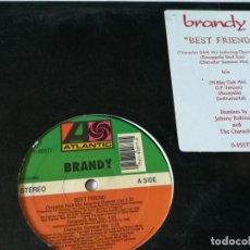 Discos de vinilo: BRANDY - BEST FRIEND - 1994. Lote 183676031