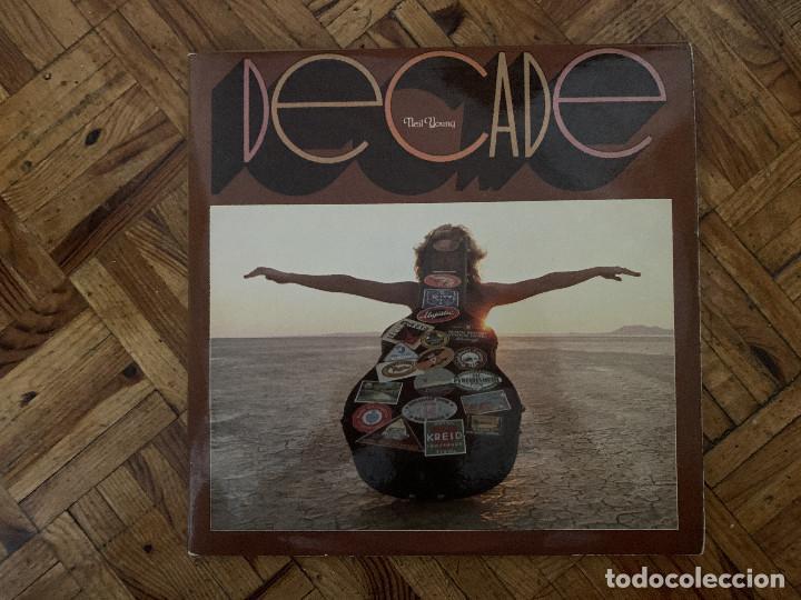NEIL YOUNG – DECADE SELLO: REPRISE RECORDS – 750-12/13/14 S FORMATO: 3 × VINYL, LP, COMPILATION (Música - Discos - LP Vinilo - Pop - Rock - Extranjero de los 70)