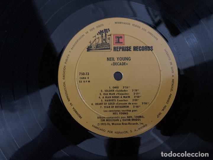 Discos de vinilo: Neil Young – Decade Sello: Reprise Records – 750-12/13/14 S Formato: 3 × Vinyl, LP, Compilation - Foto 6 - 183677590