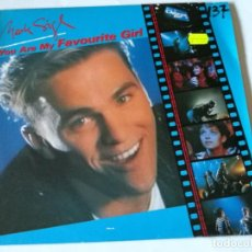 Discos de vinilo: MARK SIGL - YOU ARE MY FAVORITE GIRL - 1989. Lote 183680767