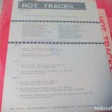 Discos de vinilo: MX. DOBLE. HOT TRACKS . SERIES 6 ISSUE 2. Lote 183681723