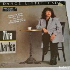 Discos de vinilo: TINA CHARLES - DANCE LITTLE LADY - 1987. Lote 183682516