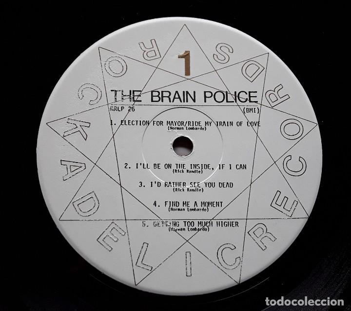 Discos de vinilo: BRAIN POLICE (Rockadelic RRLP26 - USA 1996) GARAGE PSYCHEDELIC ROCK LP - Foto 3 - 183682915