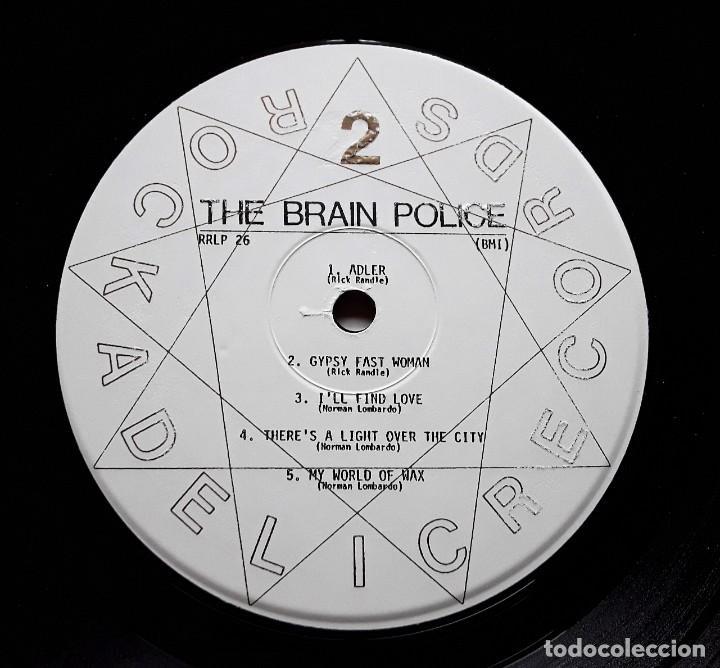 Discos de vinilo: BRAIN POLICE (Rockadelic RRLP26 - USA 1996) GARAGE PSYCHEDELIC ROCK LP - Foto 4 - 183682915