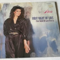 Discos de vinilo: ALEXIS - FIRST NIGHT OF LOVE - 1987. Lote 183685175