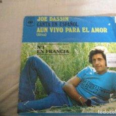 Discos de vinilo: JOE DASSIN AUN VIVO PARA EL AMOR . Lote 183685357