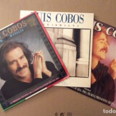 Discos de vinilo: LUIS COBOS, LOTE 3 DISCOS VINILO LP. Lote 183687076