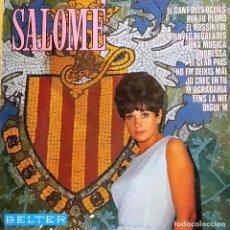 Discos de vinilo: LP SALOMÉ: SALOMÉ, ESPAÑA 1968,COMO NUEVO (EX_EX). Lote 183687516