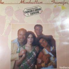 Discos de vinilo: THE MANHATTAN TRANSFER COMING OUT. Lote 183688667