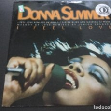 Discos de vinilo: DONNA SUMMMER -I FEEL LOVE . Lote 183697825