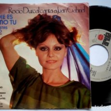 Discos de vinilo: ROCIO DURCAL - NADIE ES COMO TU / ME GUSTAS MUCHO - SINGLE MEXICANO 1979 - ARIOLA. Lote 183699683